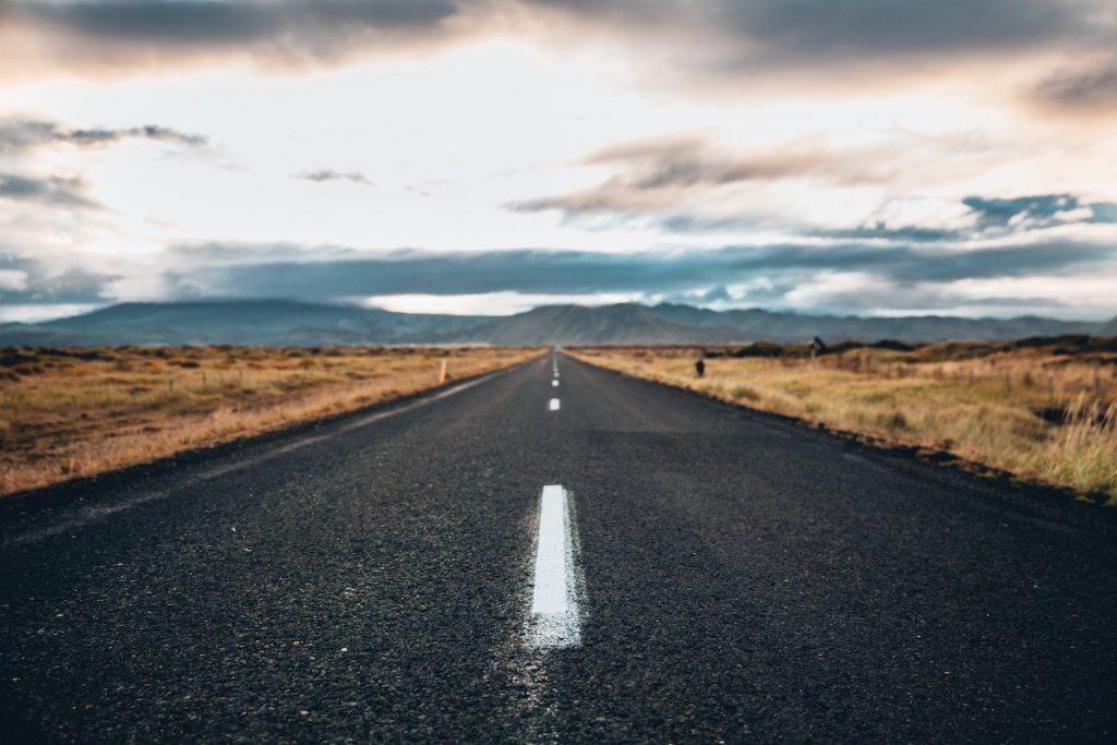 black top road into the desert - strategic plan