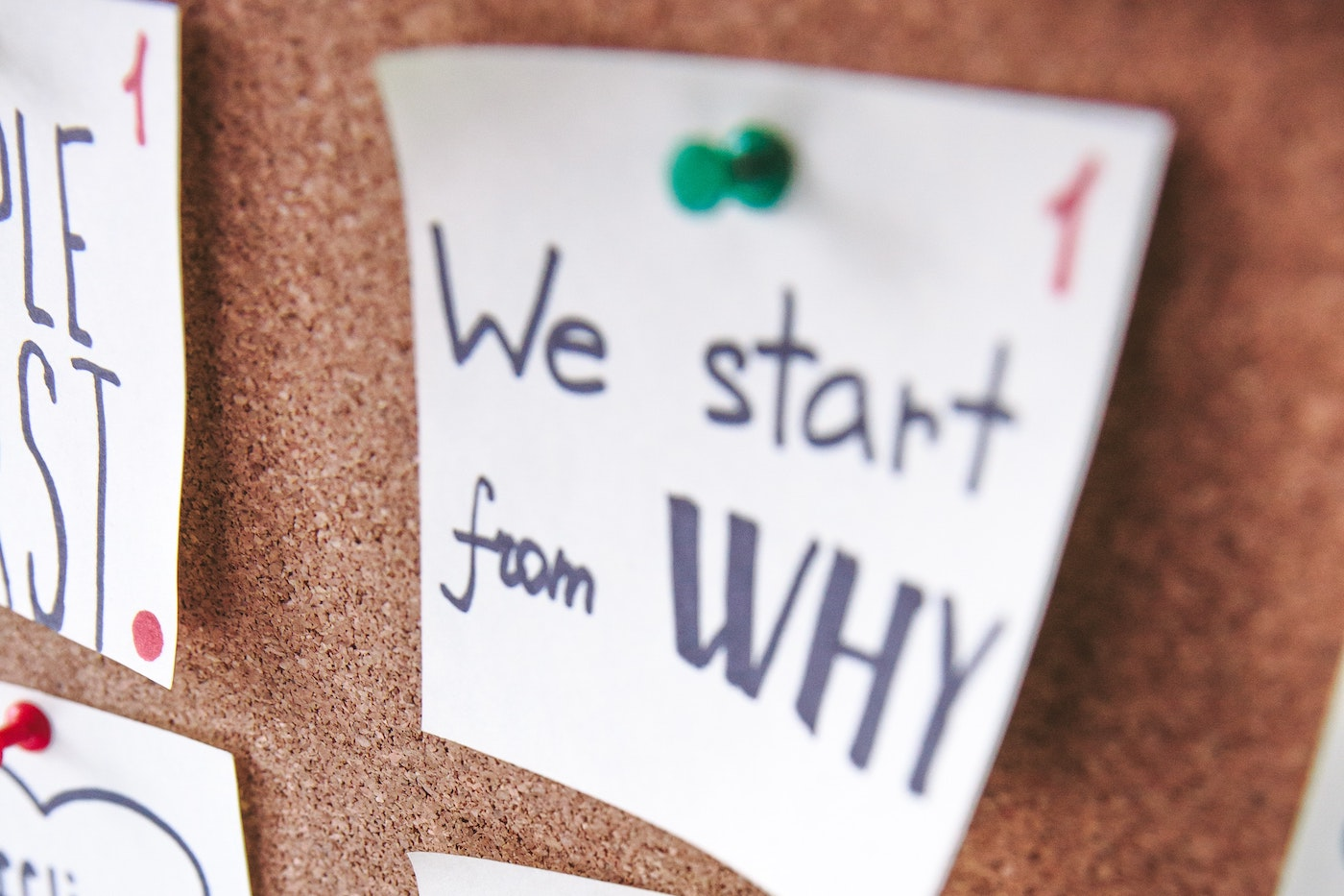 Start with your WHY!